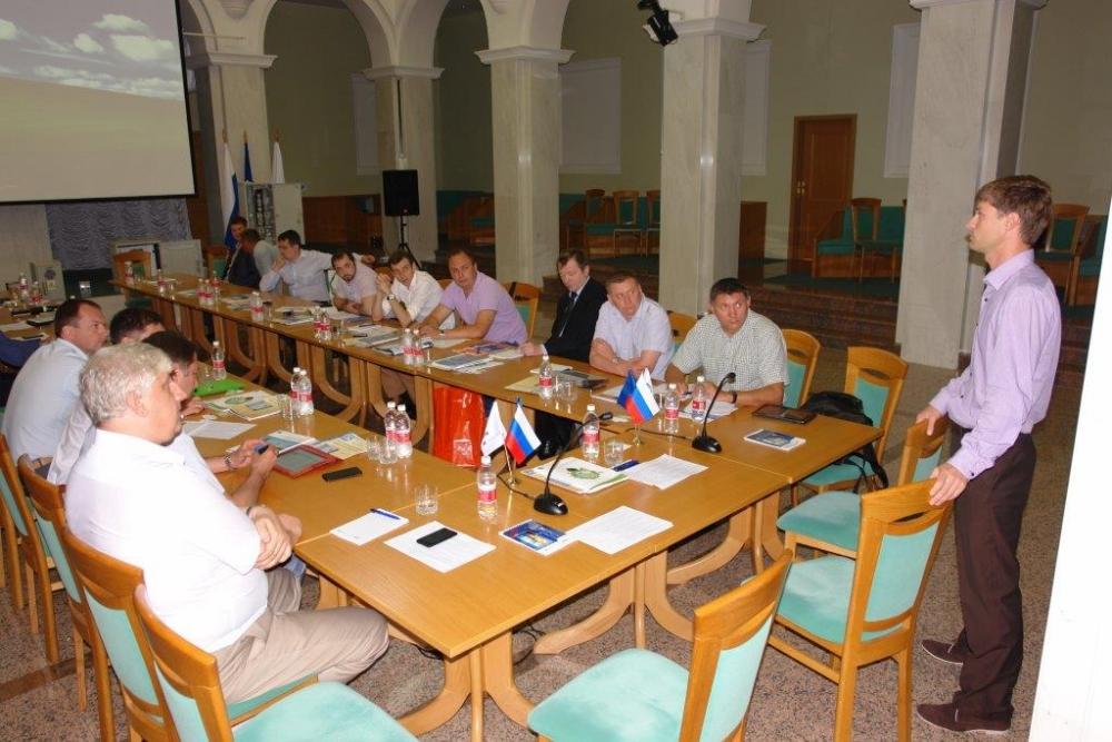 Участие в заседании технического совета МРСК Юга